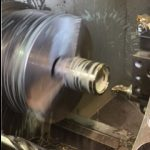 Colchester Combi CNC Machining a Stainless Steel Guide Roller
